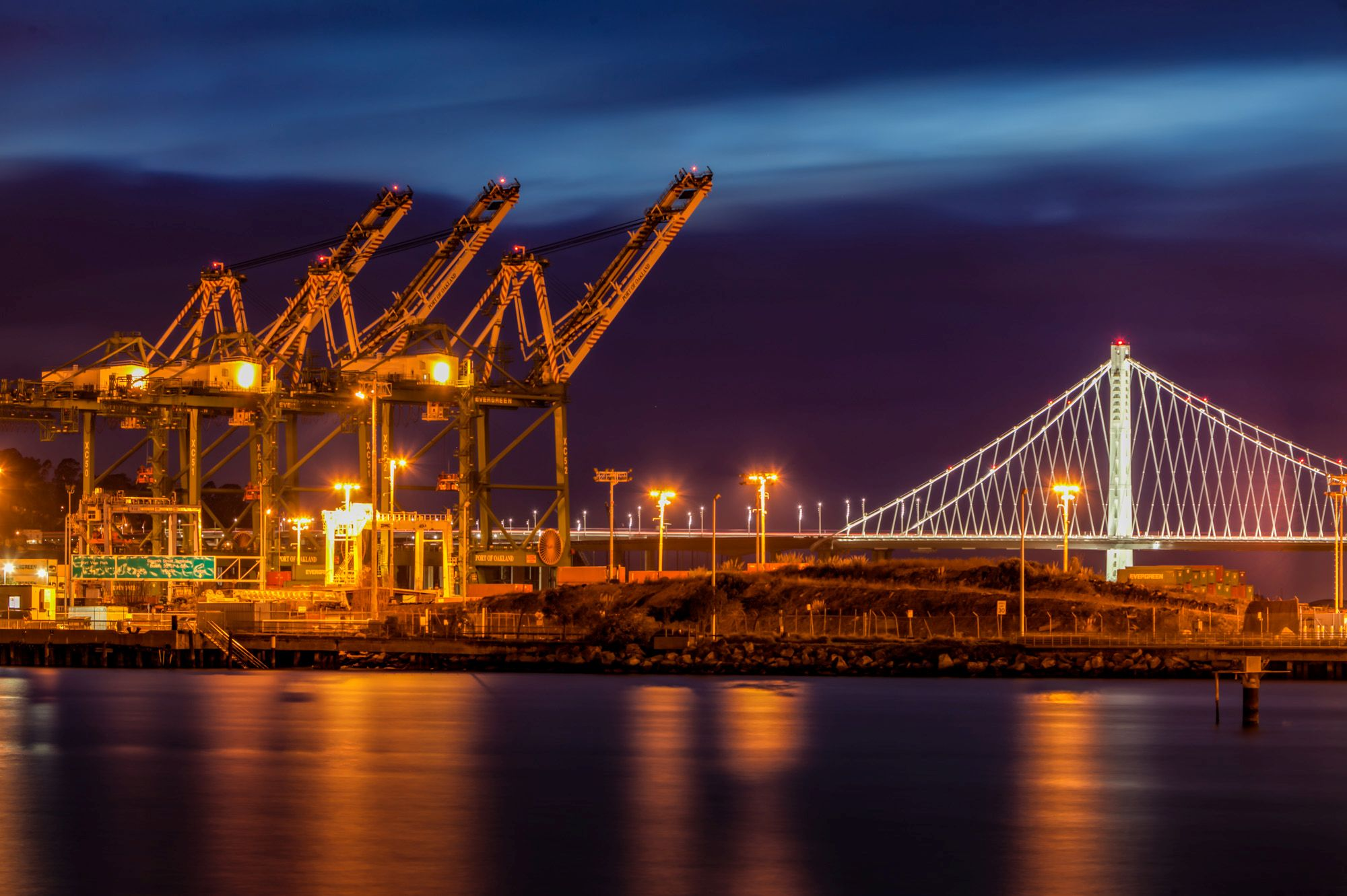 Port of Oakland Night Shoot