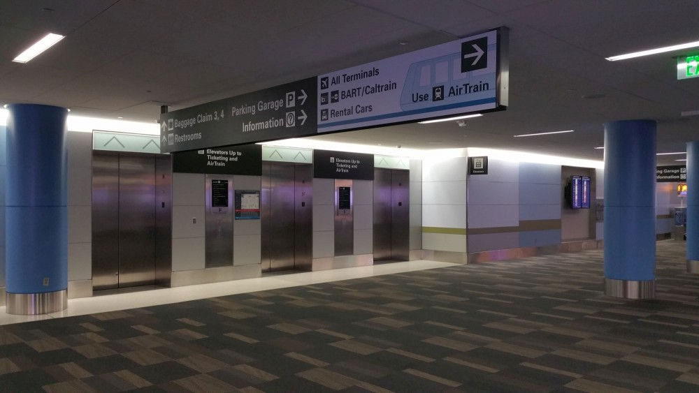 Elevators to AirTrain