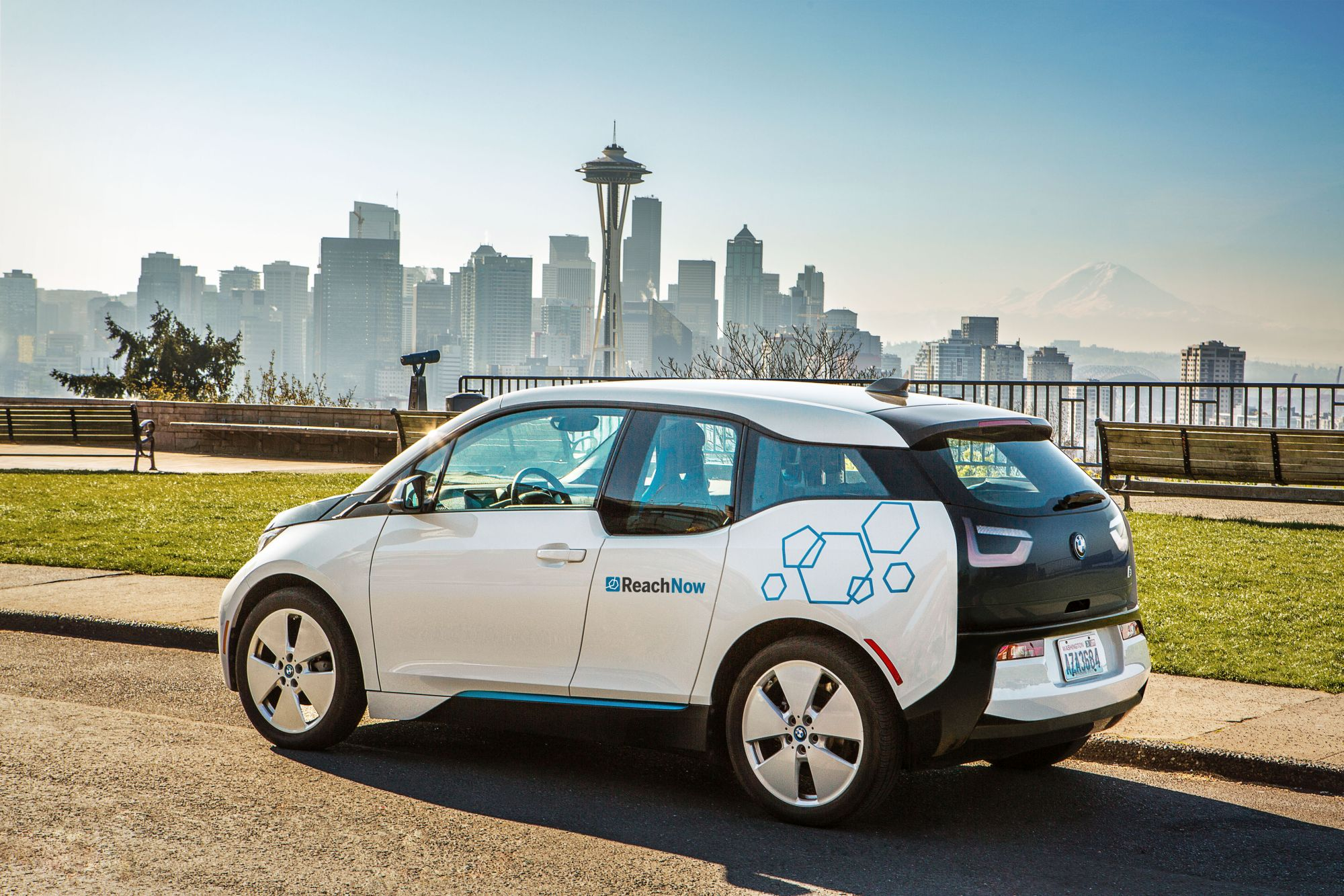 "BMW Launches New Car Sharing Service ""ReachNow"" in Seattle"