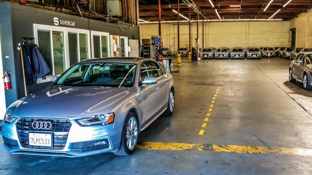 Silvercar Garage