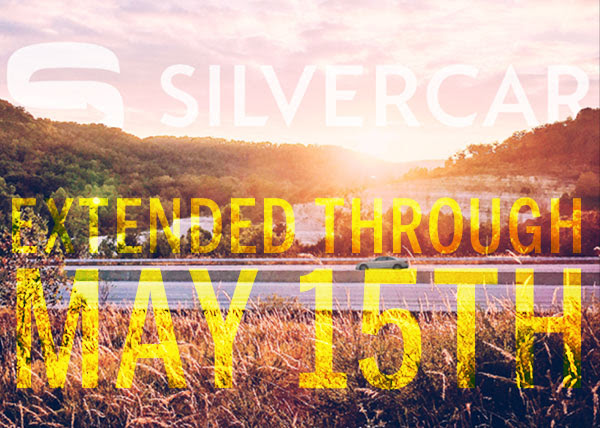 Silvercar Spring Promotion 2016