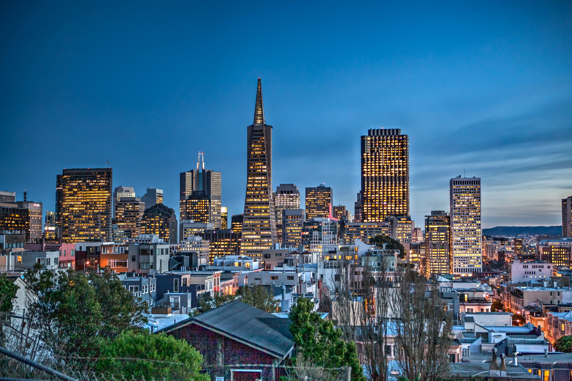 Photo of the Week: Downtown San Francisco at Dusk