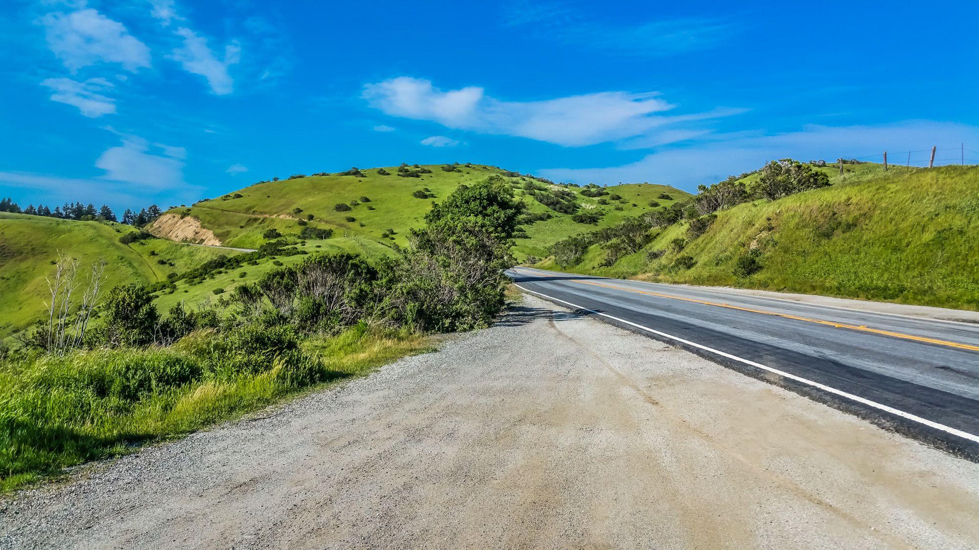 Scenic Route: Skyline Blvd between San Mateo and Santa Cruz