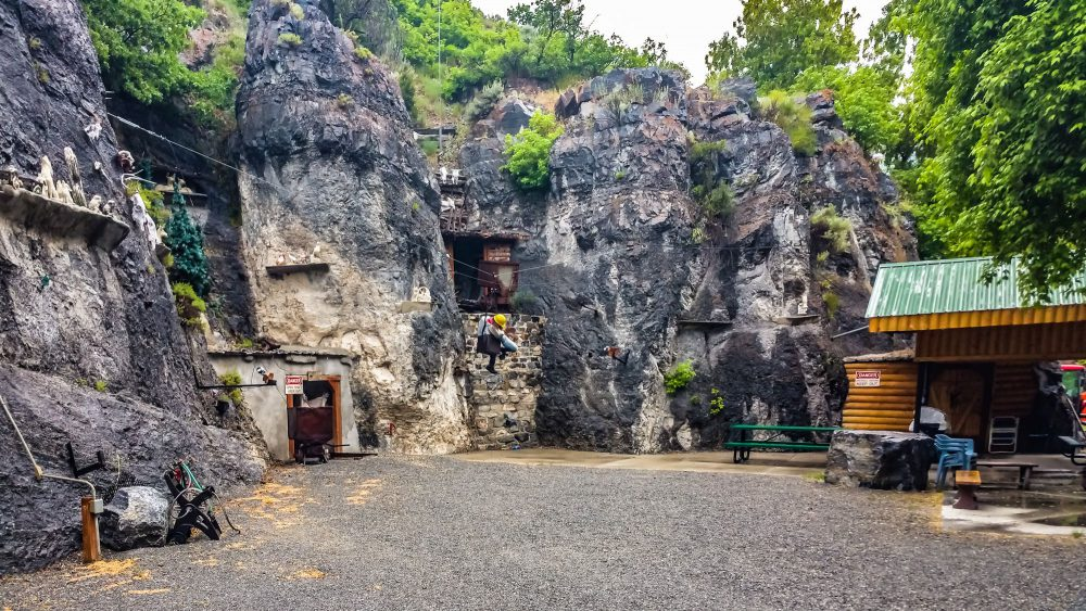 Old mine near the Historic District
