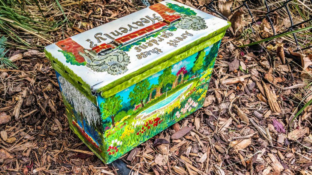 Thanksgiving Point / Gardens Cache Box