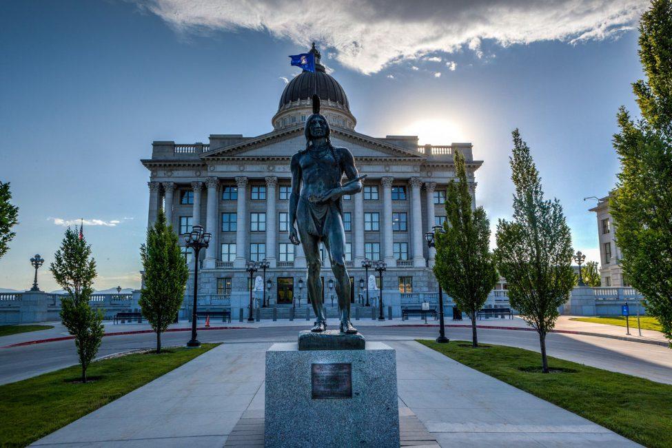 Utah State Capitol East Entrance