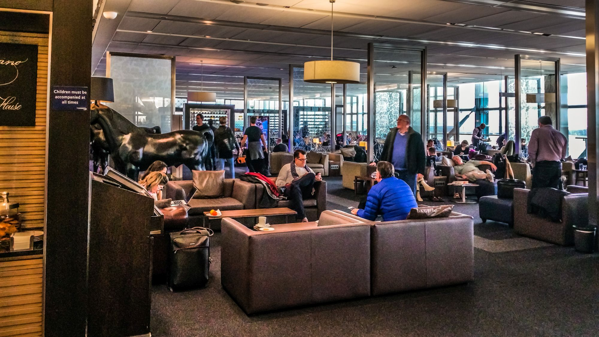 British Airways Galleries First Lounge - South - London Heathrow Terminal 5 - LHR