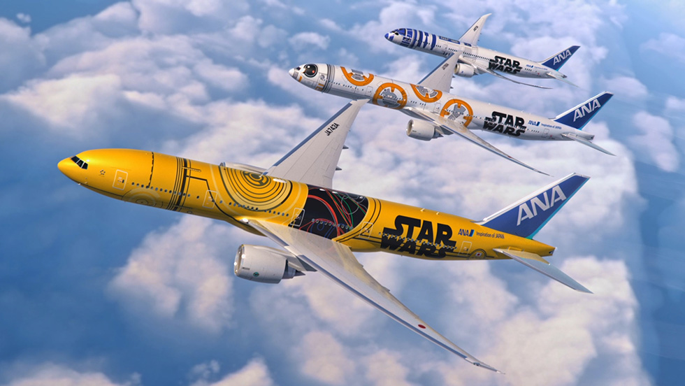 ANA Reveals Its Newest Star Wars Plane
