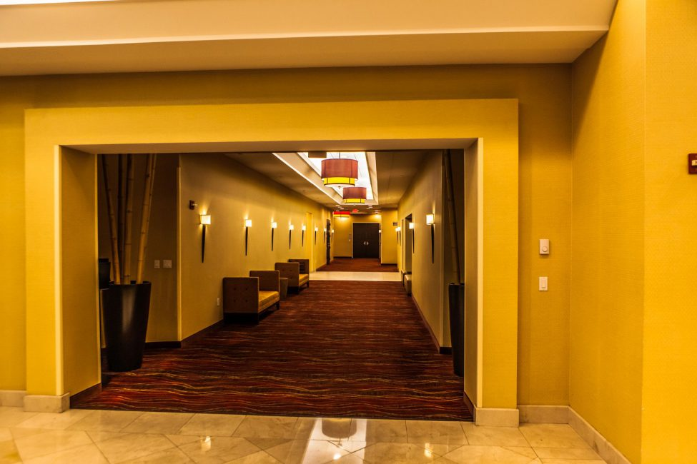 Hallway to the Meeting Rooms