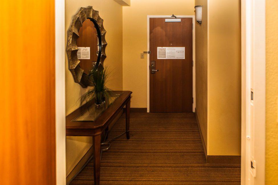Entrance Door to the Suite