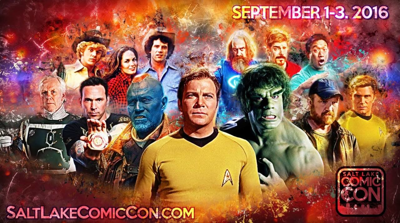Salt Lake City Comic Con 2016