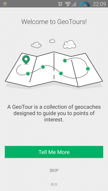 GeoTours in App