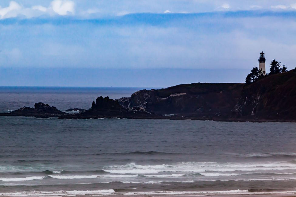 Yaquina Head Lightouse - taken from my room