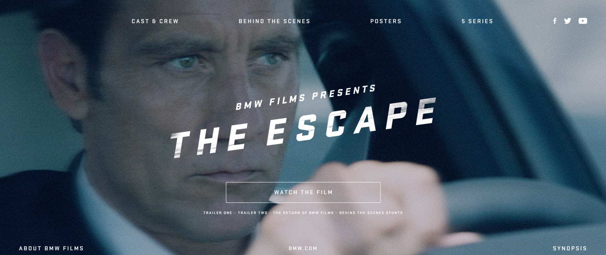 BMW Films Is Back with – The Escape