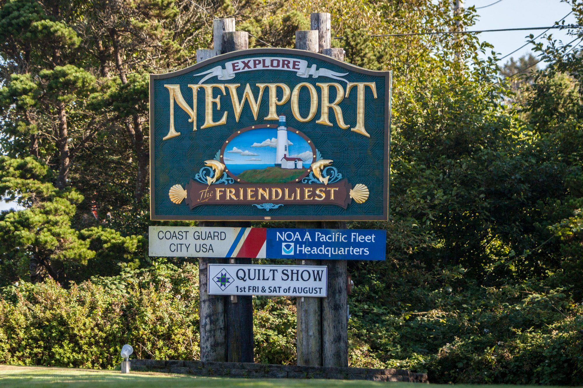 A Weekend Getaway to Newport, Oregon
