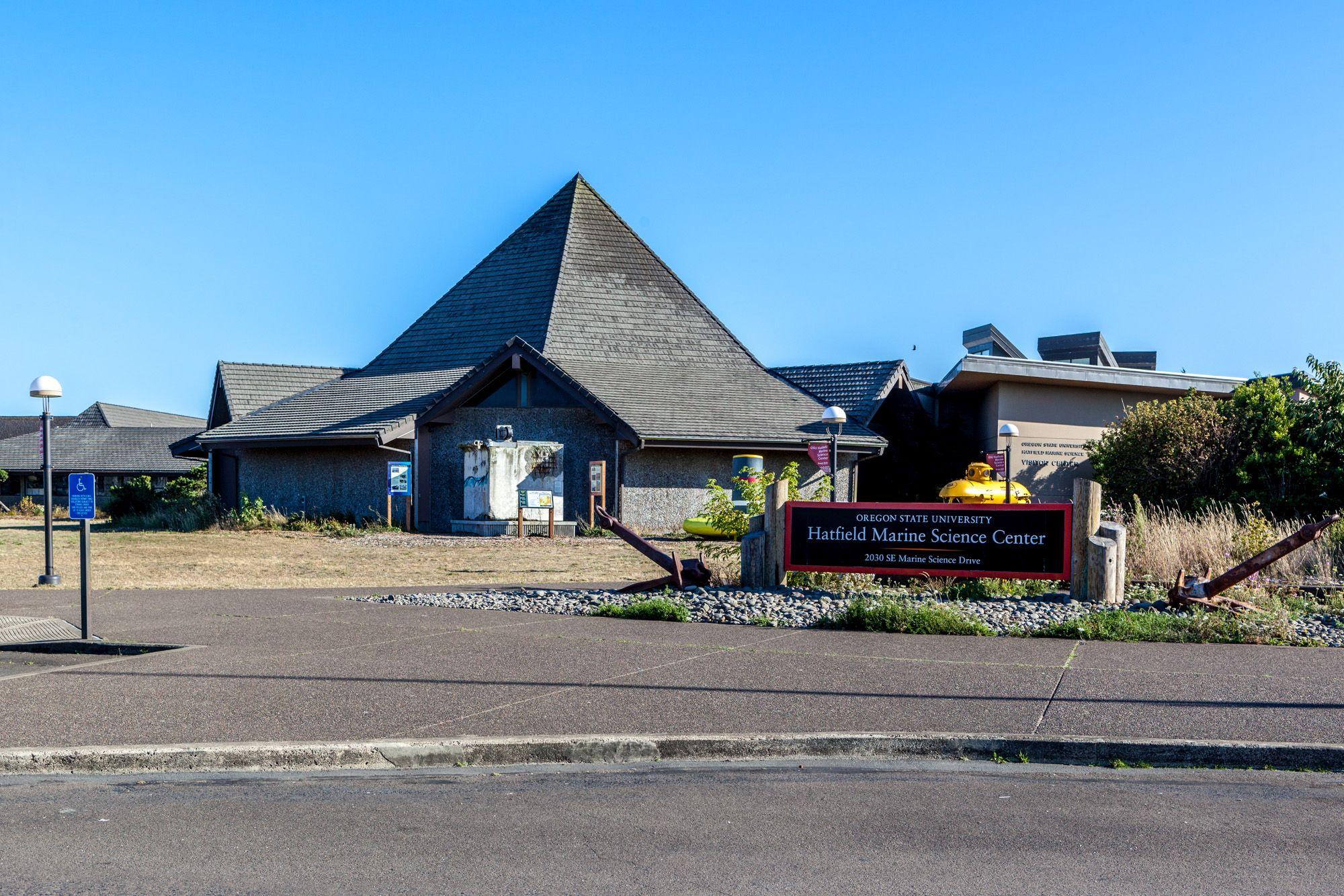 Newport Hatfield Marine Science Center Gate To Adventures