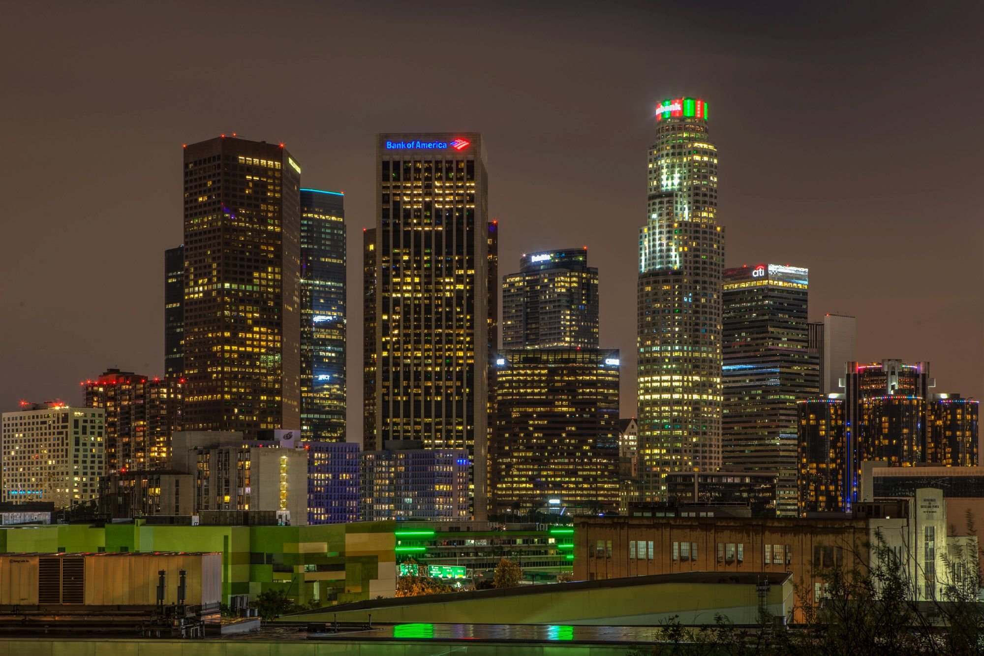 Photo of the Week: L.A. Skyline by Night