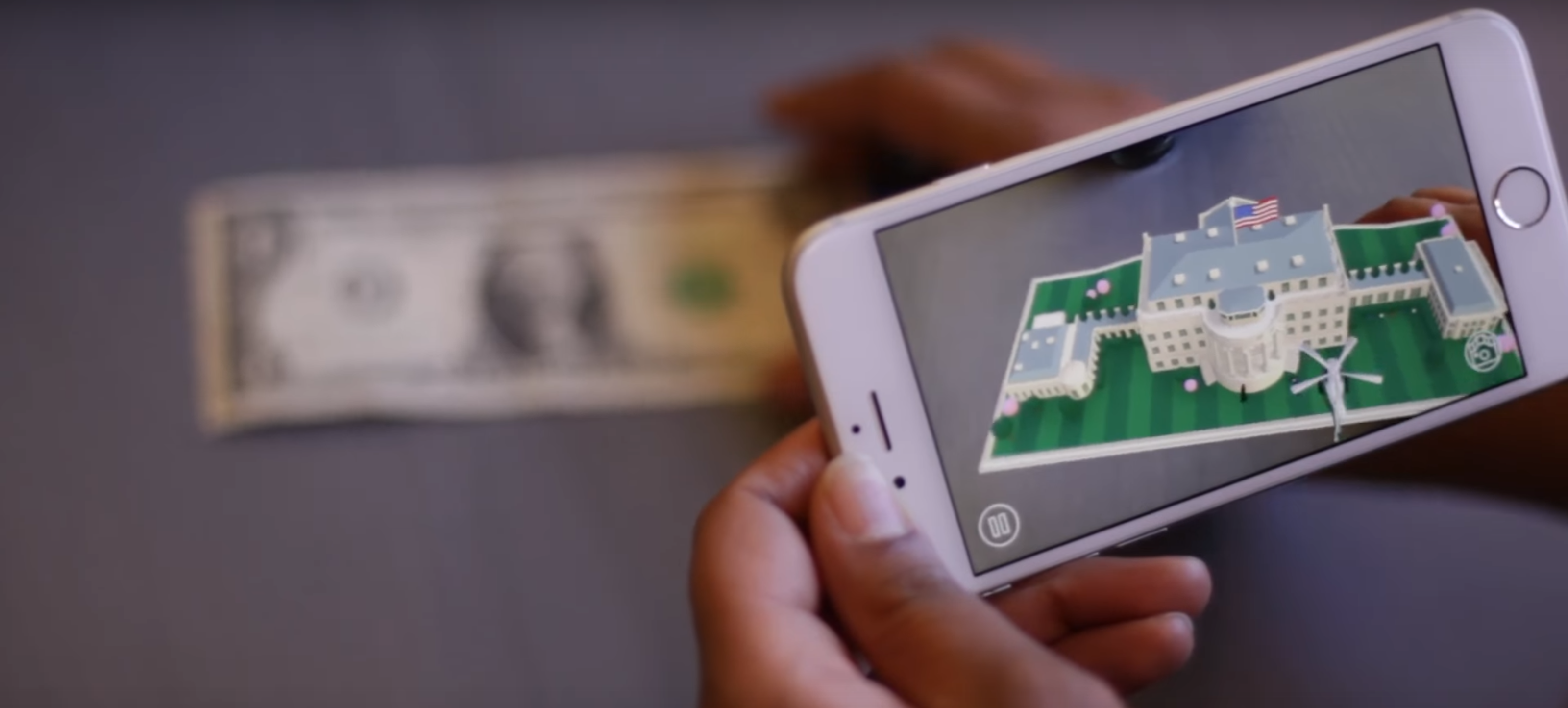 Visit the White House with One Dollar and Your Smartphone