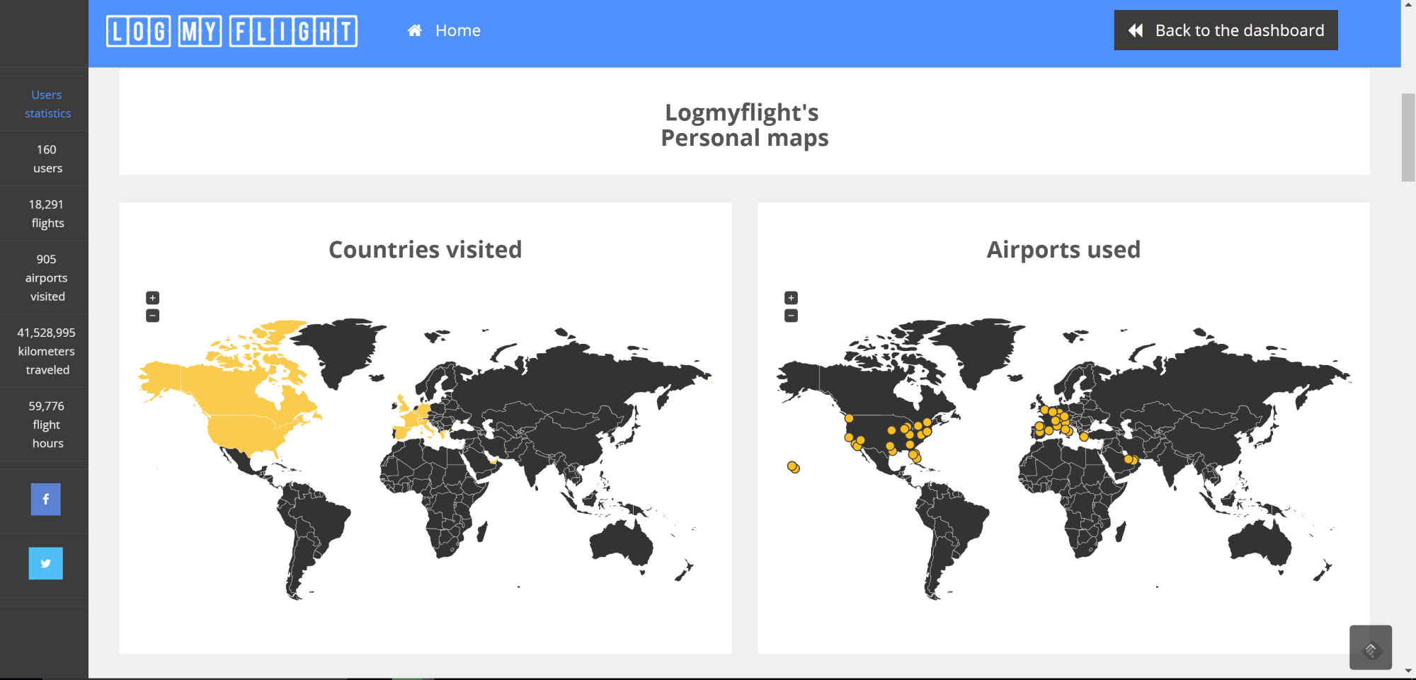 Log My Flight: The Newest and Best Flight Logger Site on the Web
