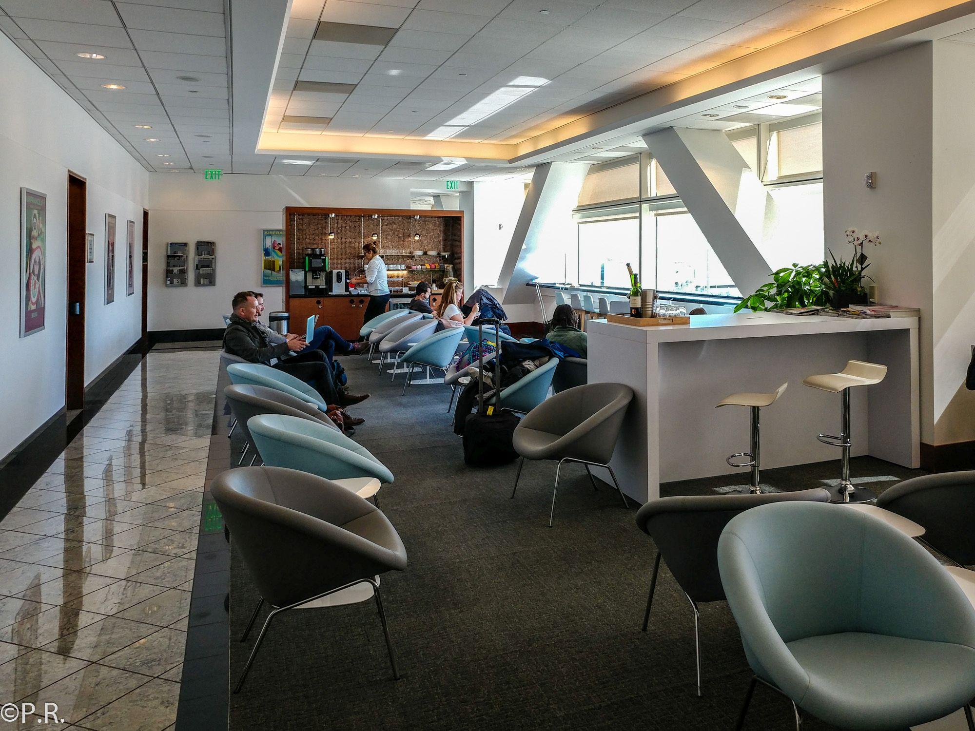 AirFrance / KLM Lounge San Francisco International (SFO) Terminal A