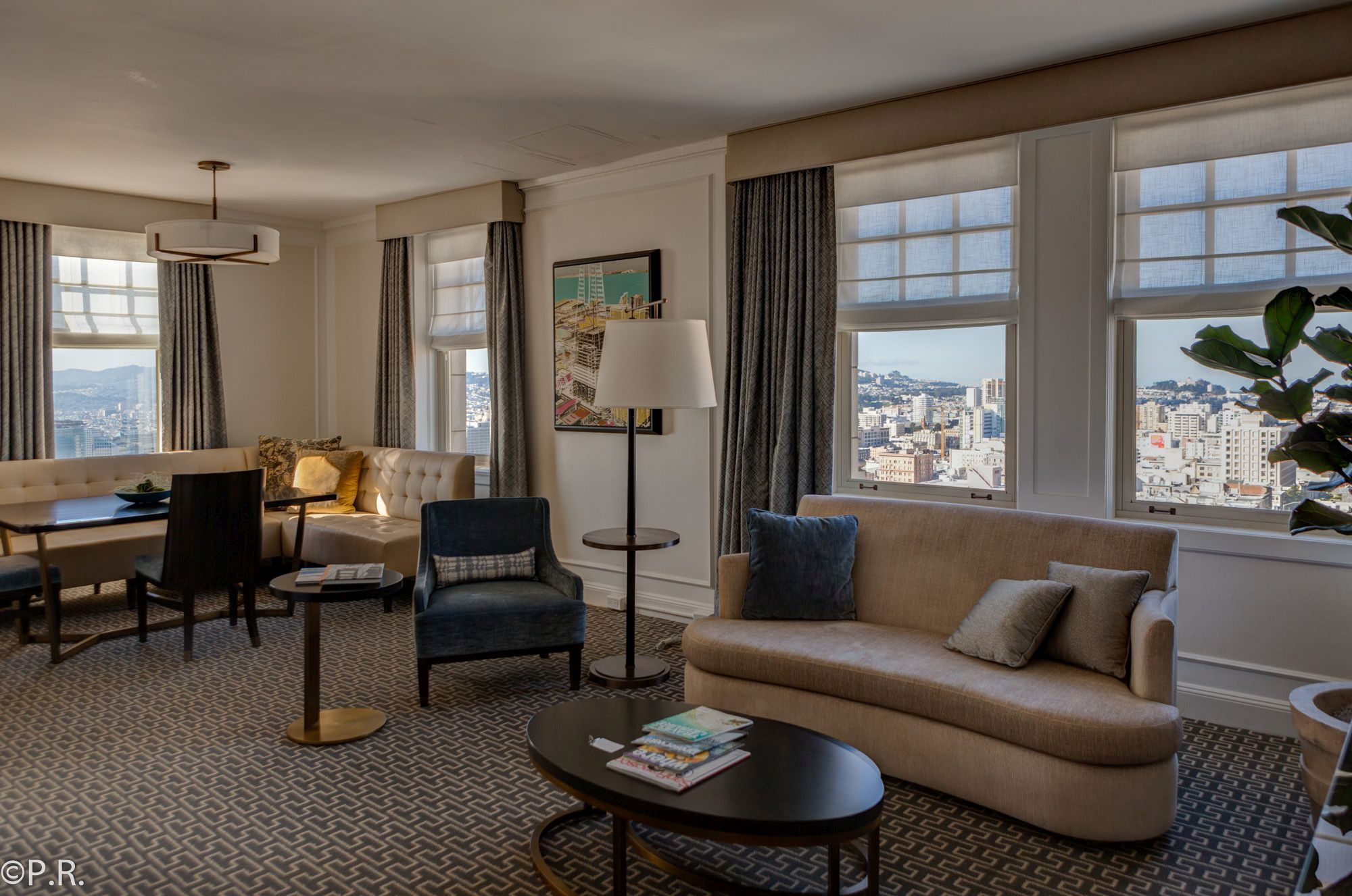 Hotel Review: Intercontinental Mark Hopkins San Francisco