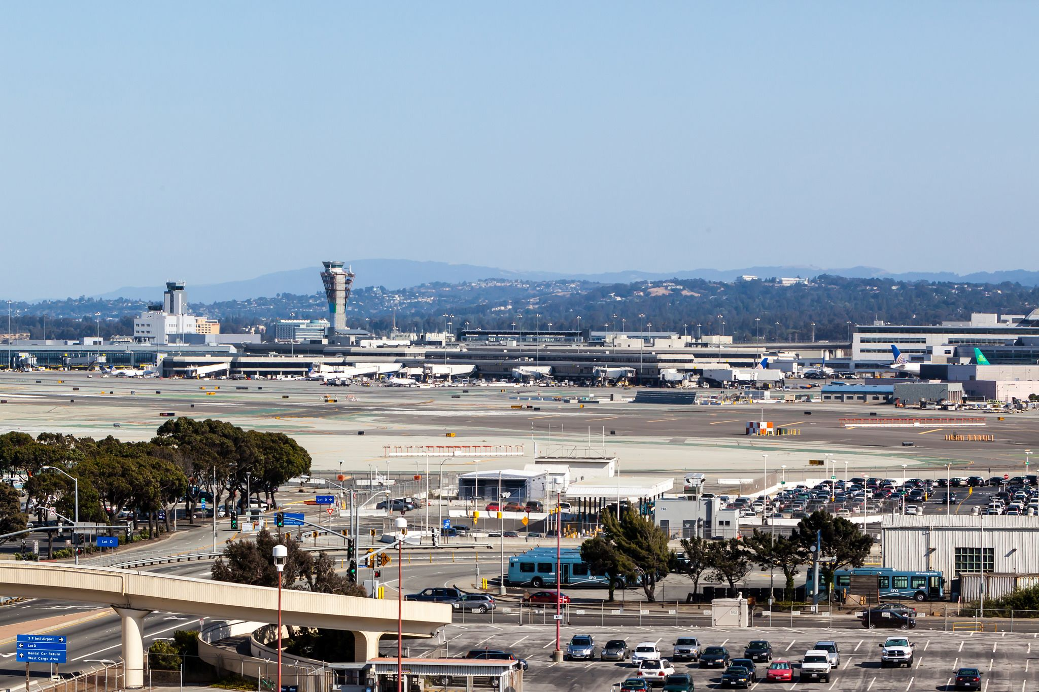 San Francisco Airport Gets Public Observation Deck and On-Airport Hotel