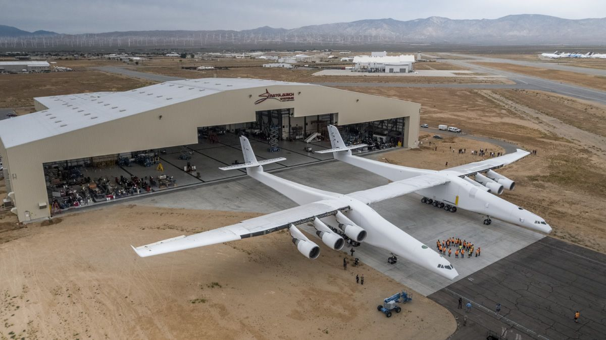 The World's Largest Aircaft Is Getting Ready for Testing