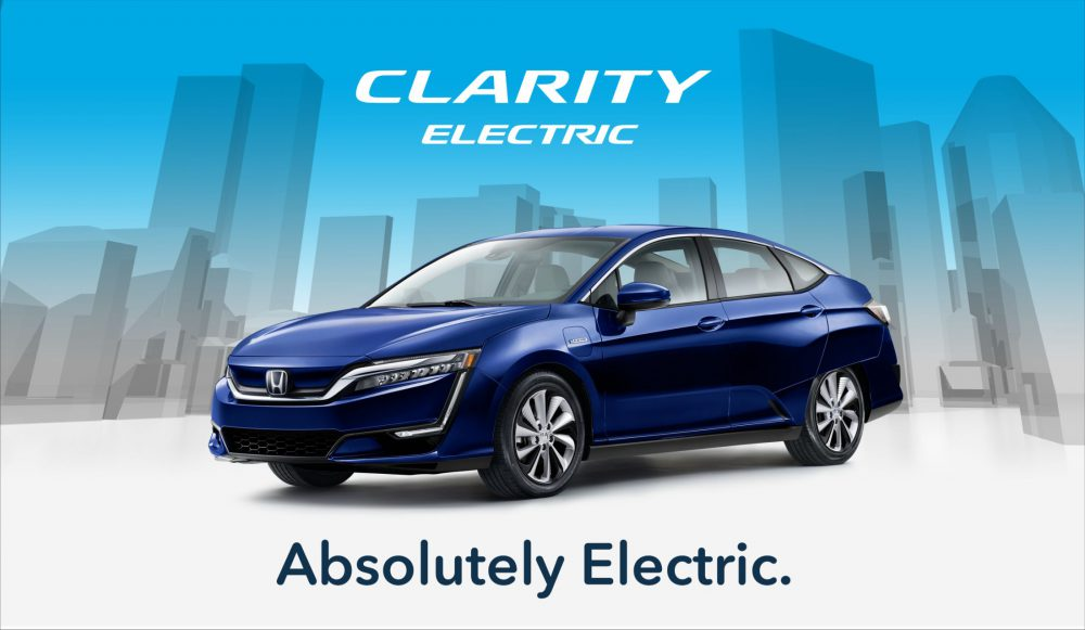 Honda Clarity Electric Driving Event Gate To Adventures