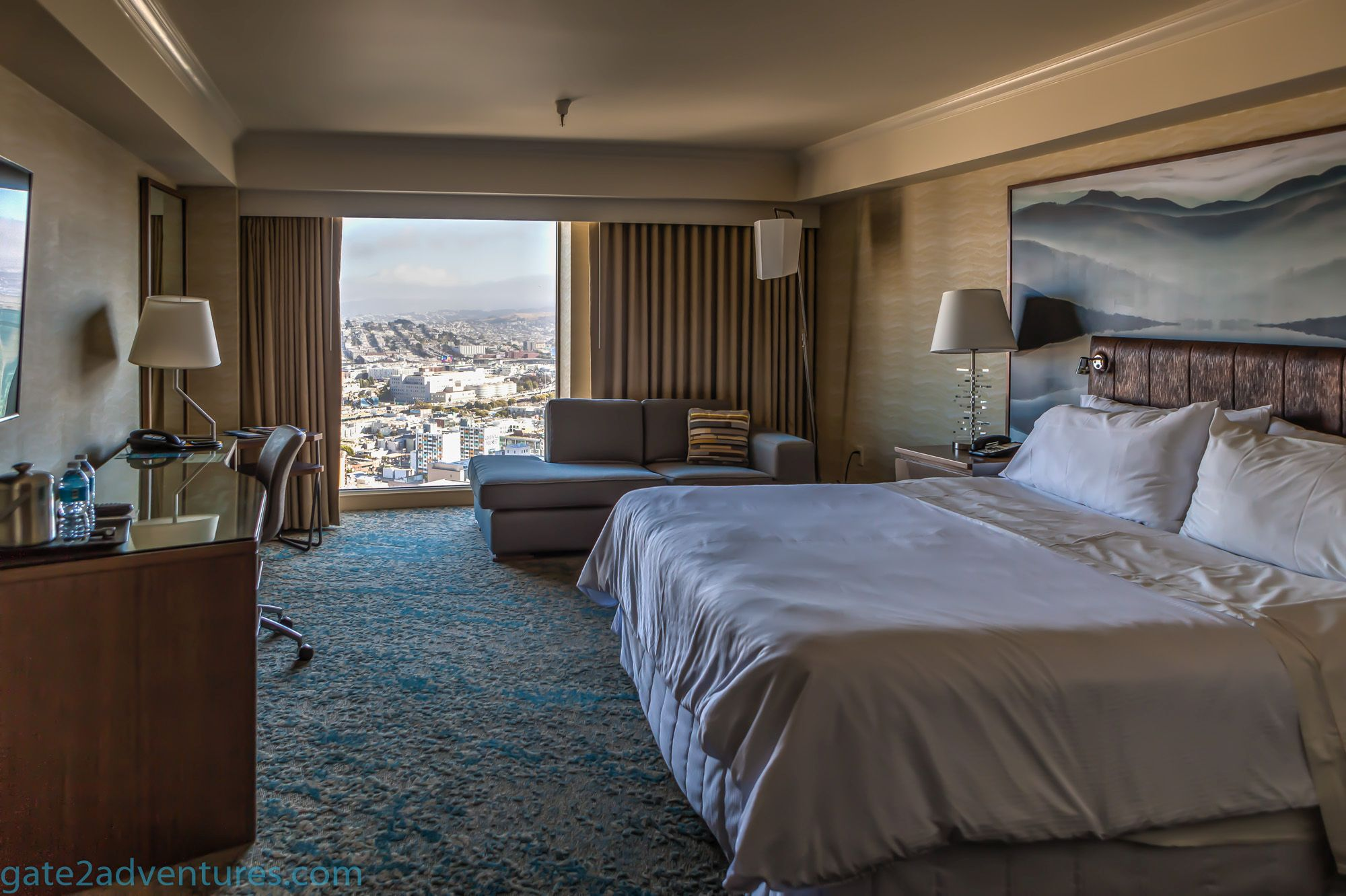 hotel review spg park central san francisco gate to. Black Bedroom Furniture Sets. Home Design Ideas