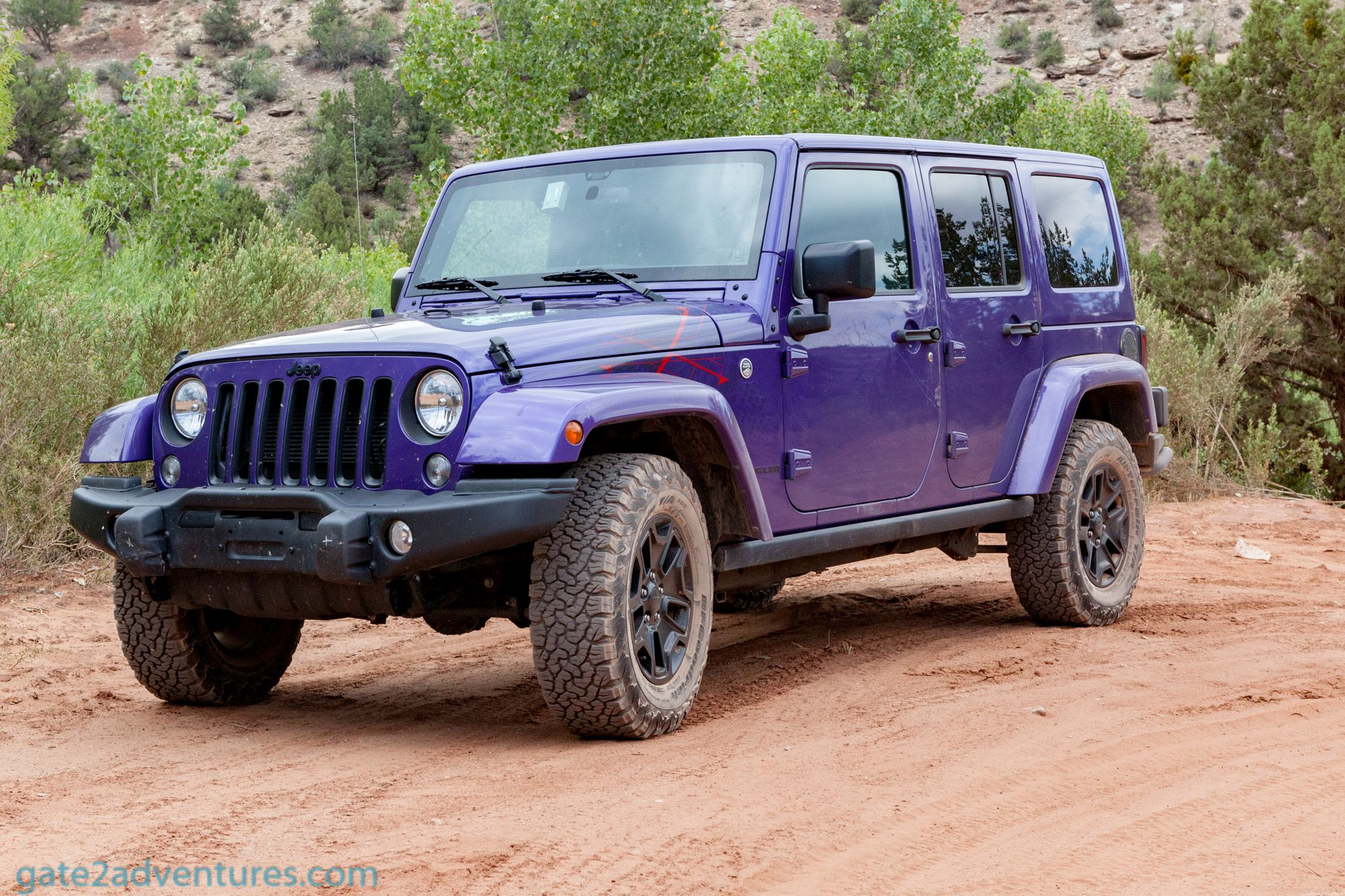 Test Drive 2016 Jeep Wrangler Backcountry Gate to Adventures
