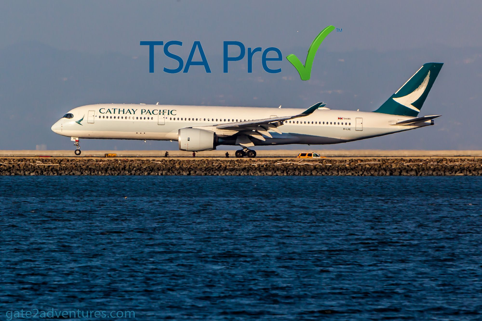 Cathay Pacific Is Now a Participating Airline in TSA Pre✓®