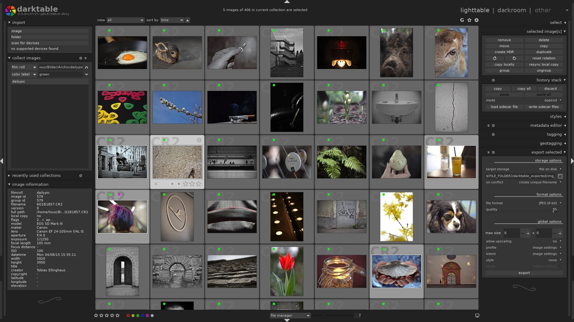 Darktable: A Free and Open-Source Alternative to Adobe Lightroom Now Available for Windows