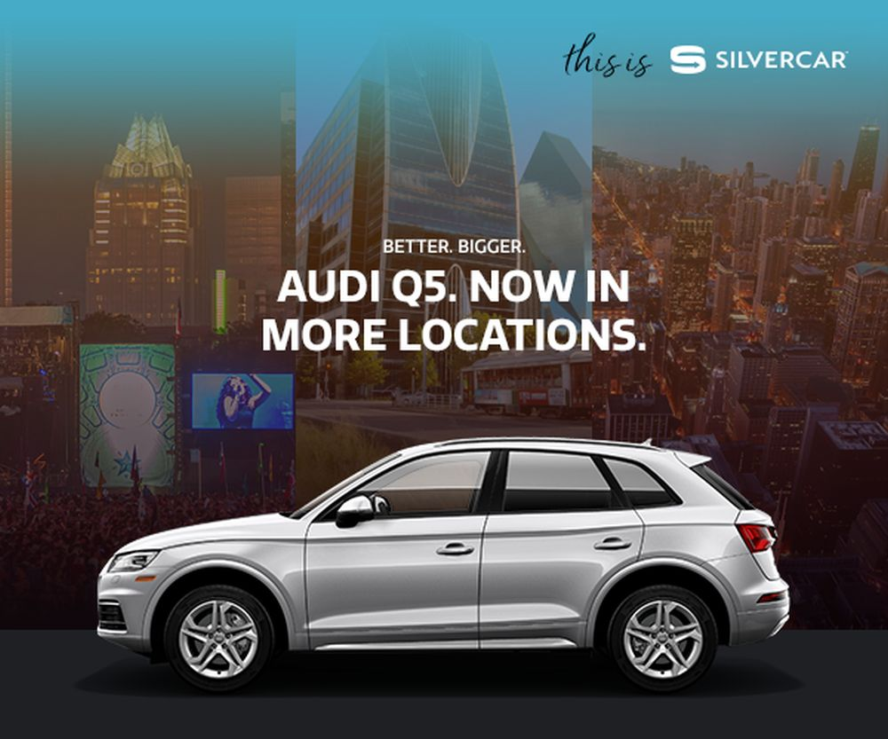 Silvercar Is Coming To San Diego And More Locations With Q - Audi silver car