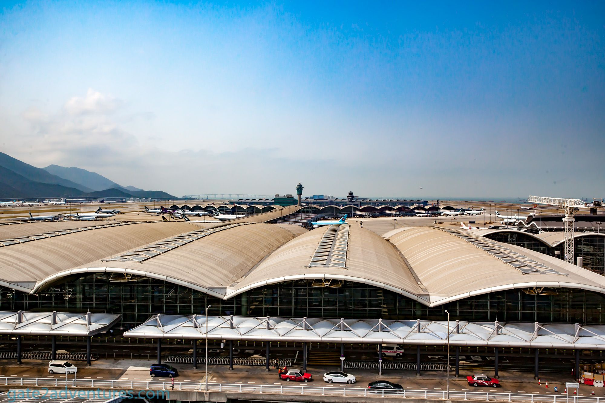 The Secret SkyDeck at Hong Kong International Airport