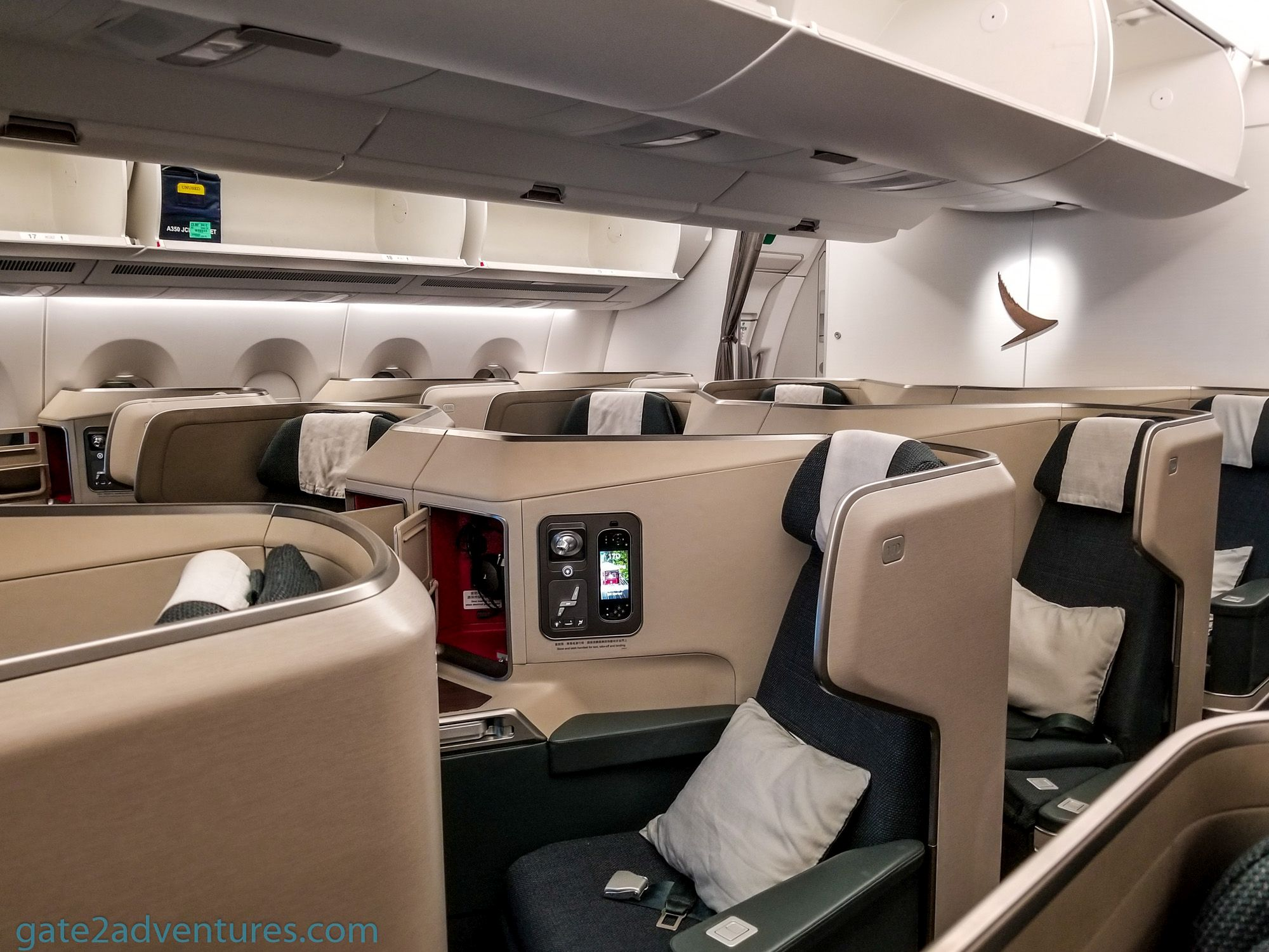 Flight Review: Cathay Pacific Business Class – Airbus A350 San Francisco (SFO) to Hong Kong (HKG)