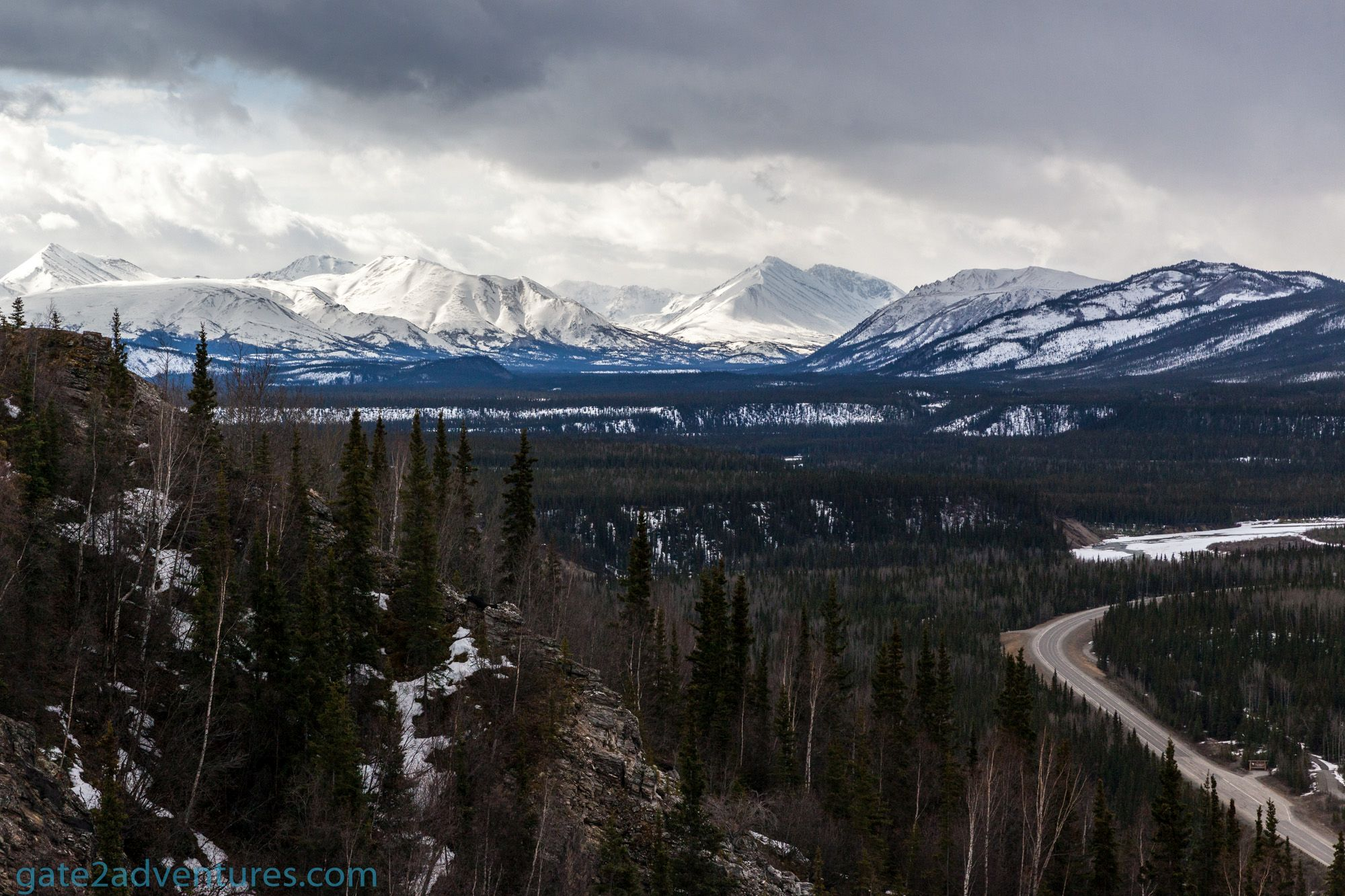 A Hilarious Driveway in Alaska