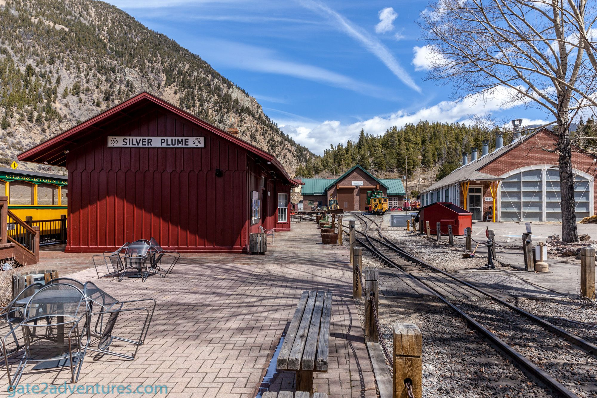 Geor own Loop Railroad and Mining Park Gate to Adventures