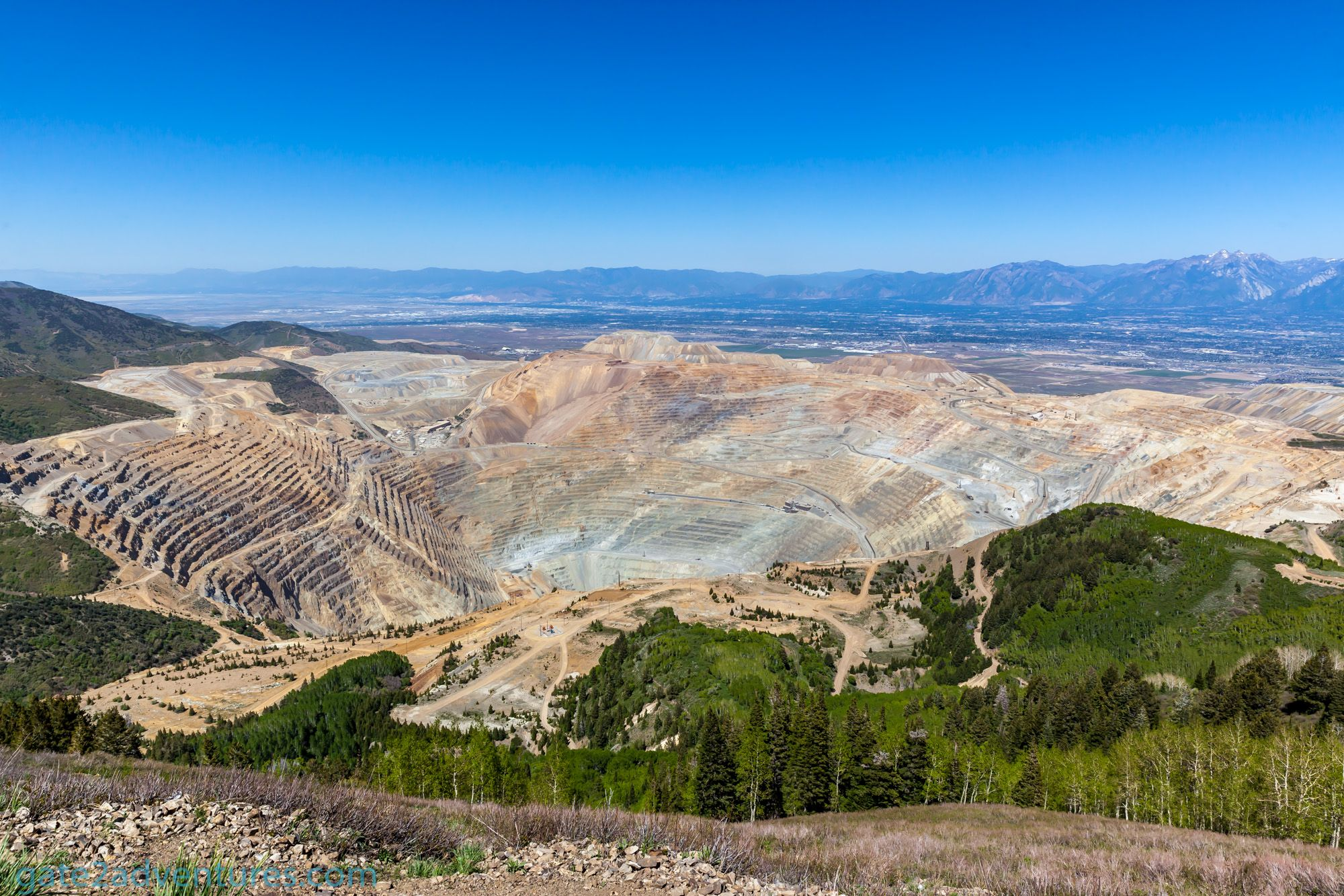 Road Trip to Bingham Canyon Mine Overlook