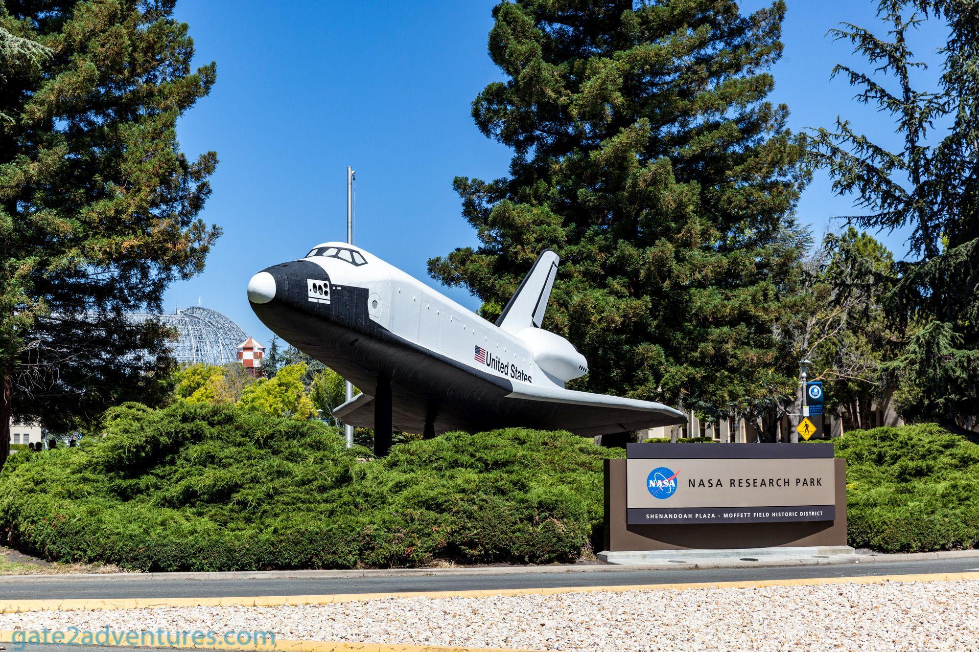 NASA Ames Research Center, Moffett Field Museum and a Secret Model Railroad