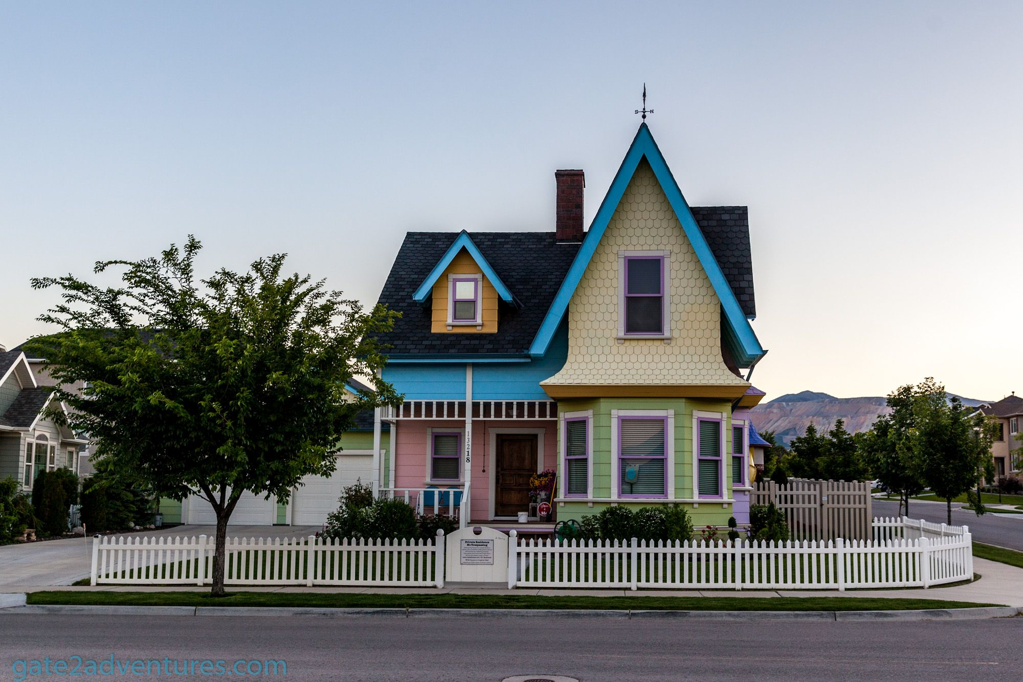 "Visit the Real-Life Disney-Pixar ""Up"" House"