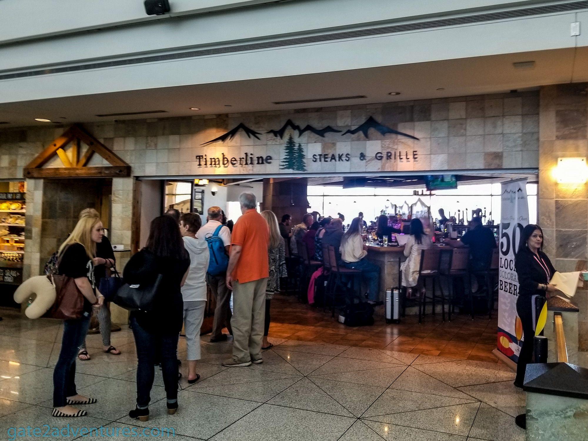 Airport Restaurant: Timberline Steaks & Grille – Denver (DEN)
