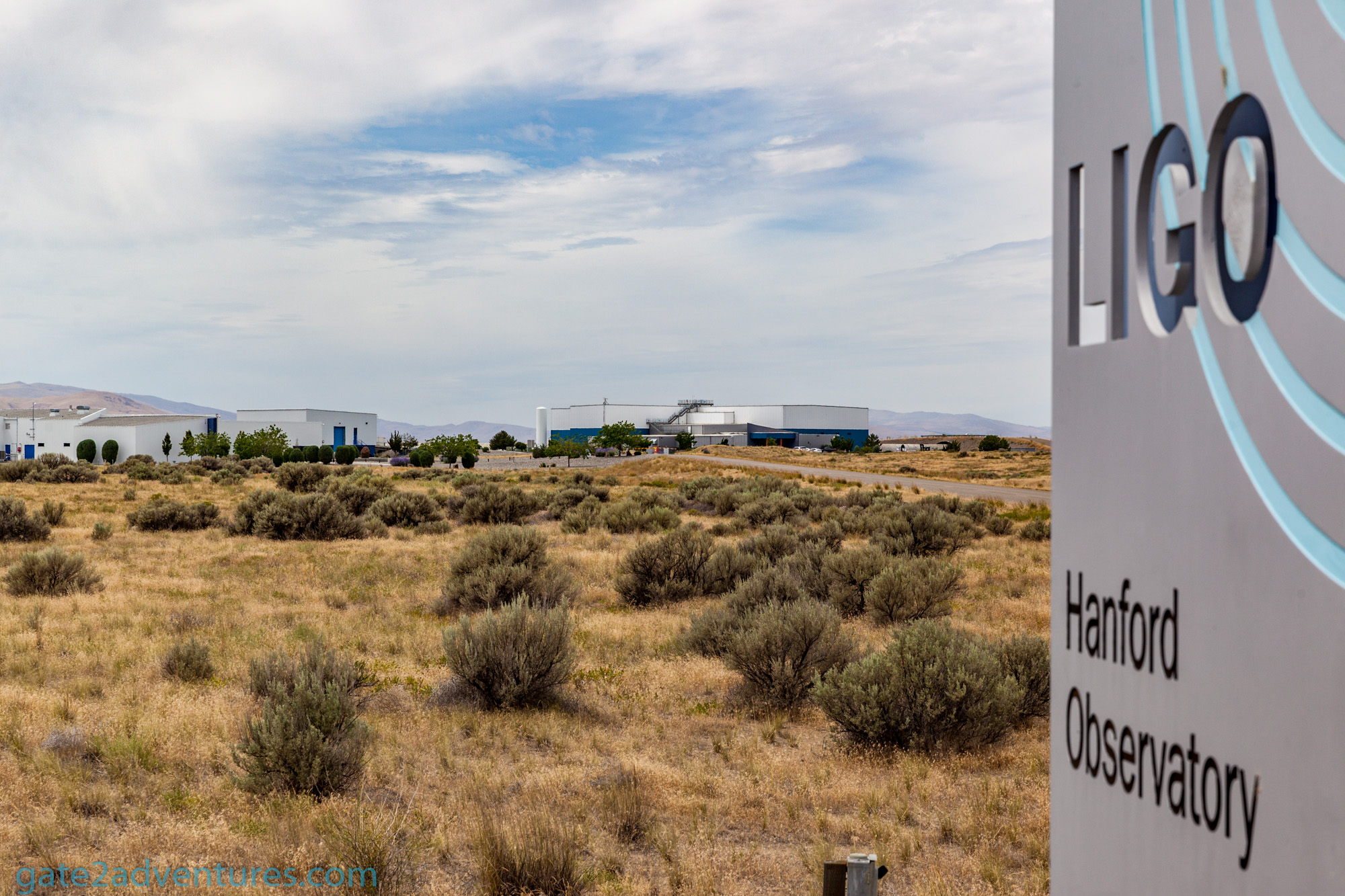 Laser Interferometer Gravitational-Wave Observatory (LIGO) in Hanford, WA