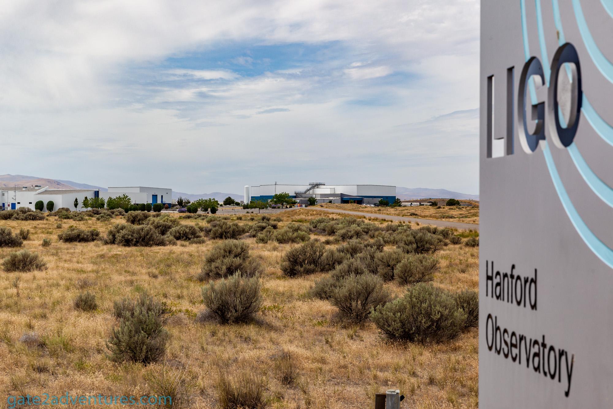 Laser Interferometer Gravitational-Wave Observatory (LIGO) in Hanford, WA