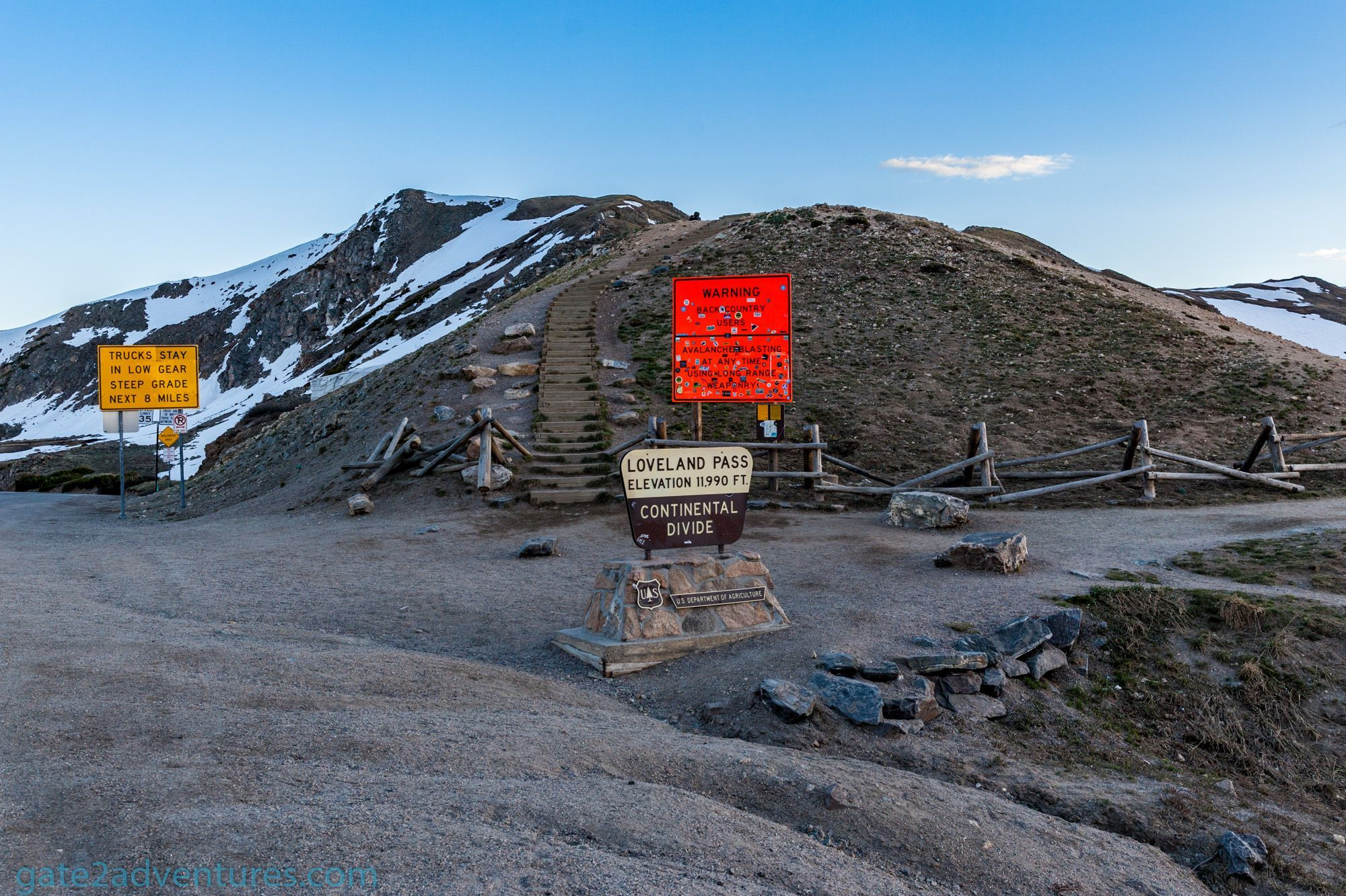 Loveland Pass – Drive Across the Continental Divide in Colorado