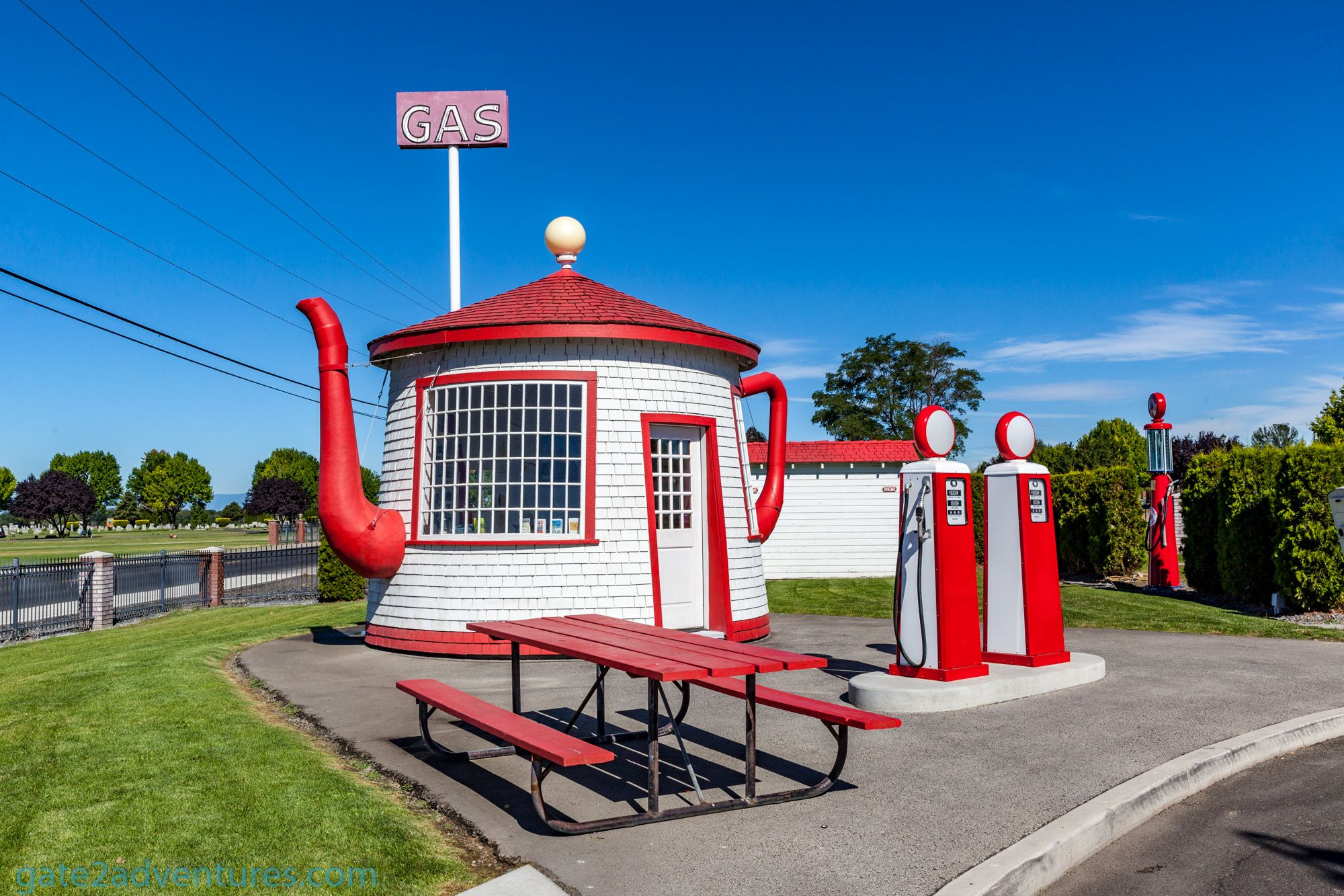 Teapot Dome Gas Station National Historic Site