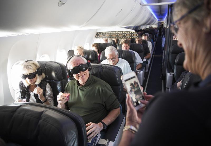 Alaska Airlines Trials VR Entertainment at 35,000 Feet
