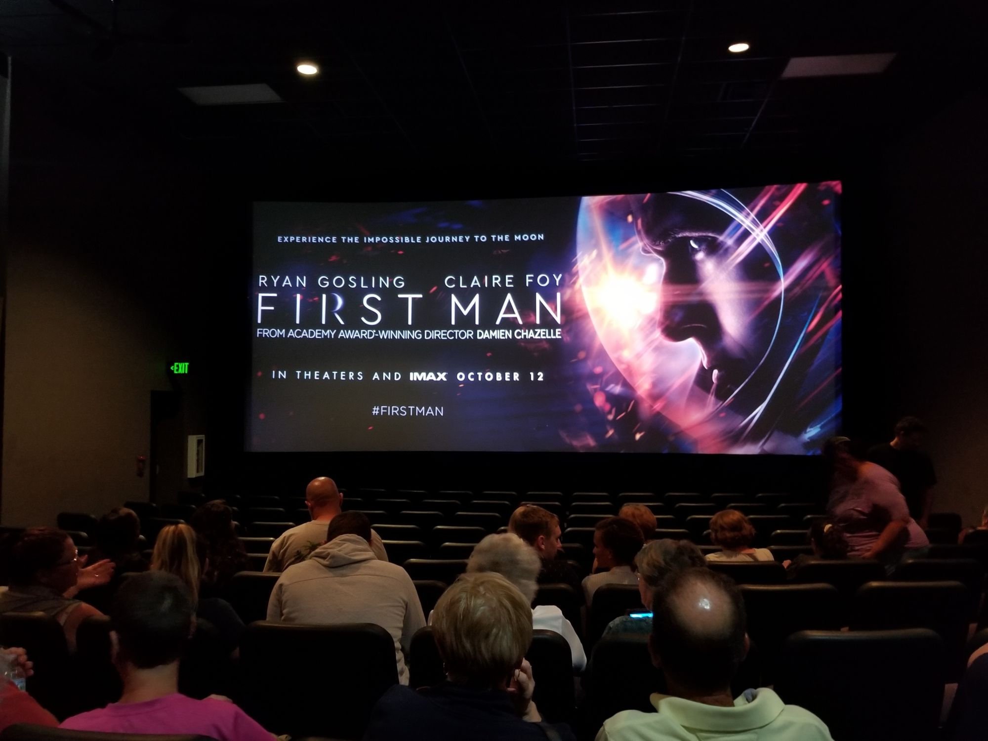 First Man Movie – The Exclusive Pre-Screening Event