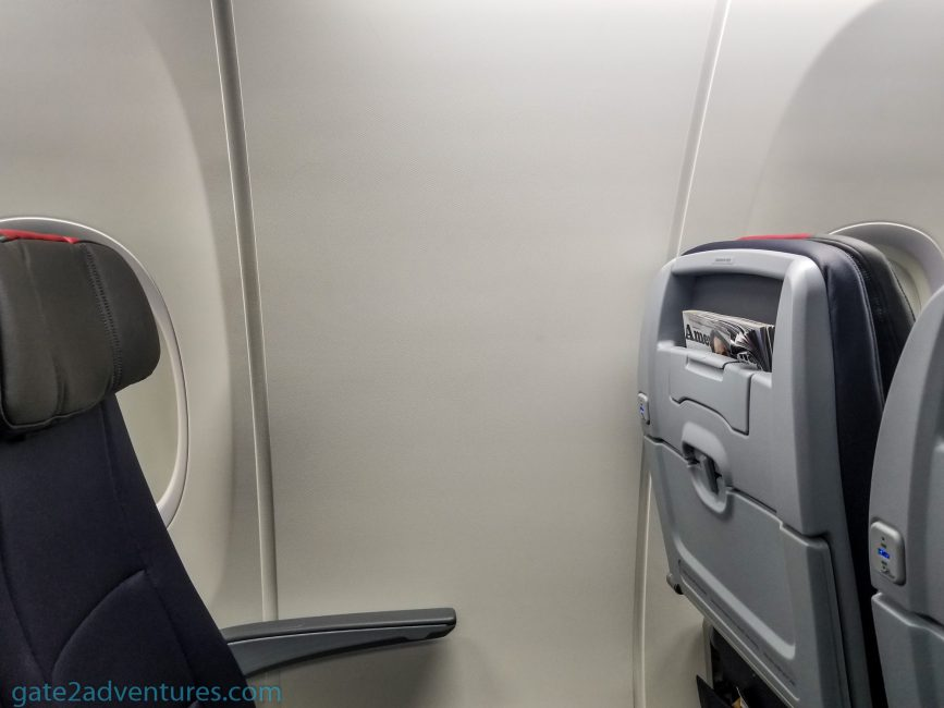 Window Seat without a Window