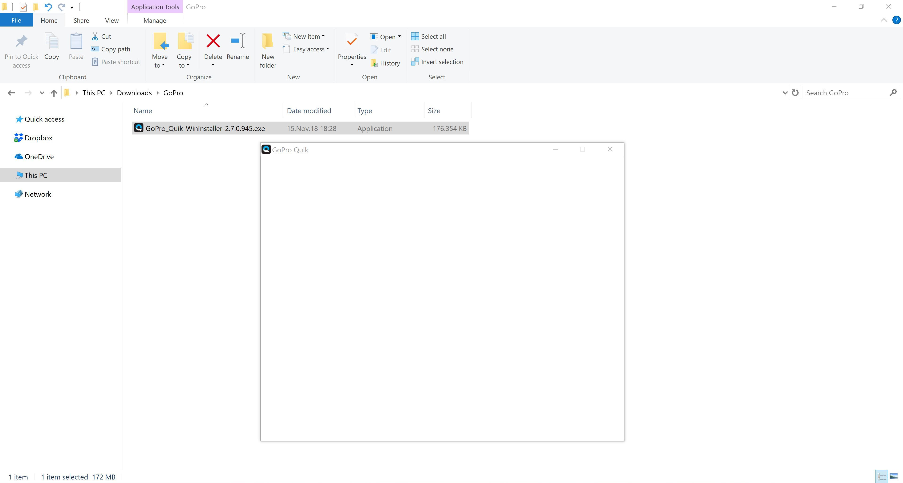 Fix: GoPro Quik for Desktop Won't Install on Windows 10