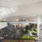 LGA Terminal B Interior Rendering